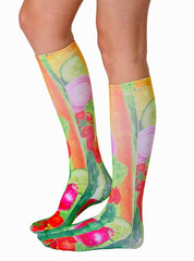 Veggies Knee High Socks