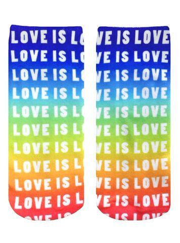Love Is Love Ankle Socks