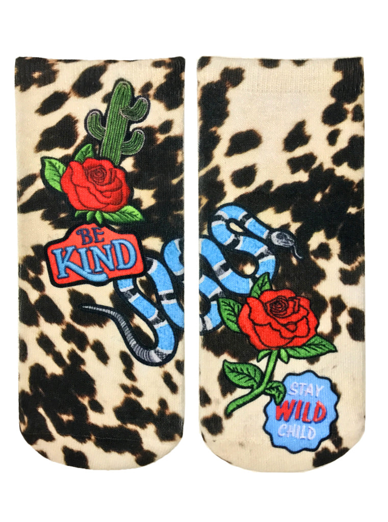 Wild Child Ankle Socks