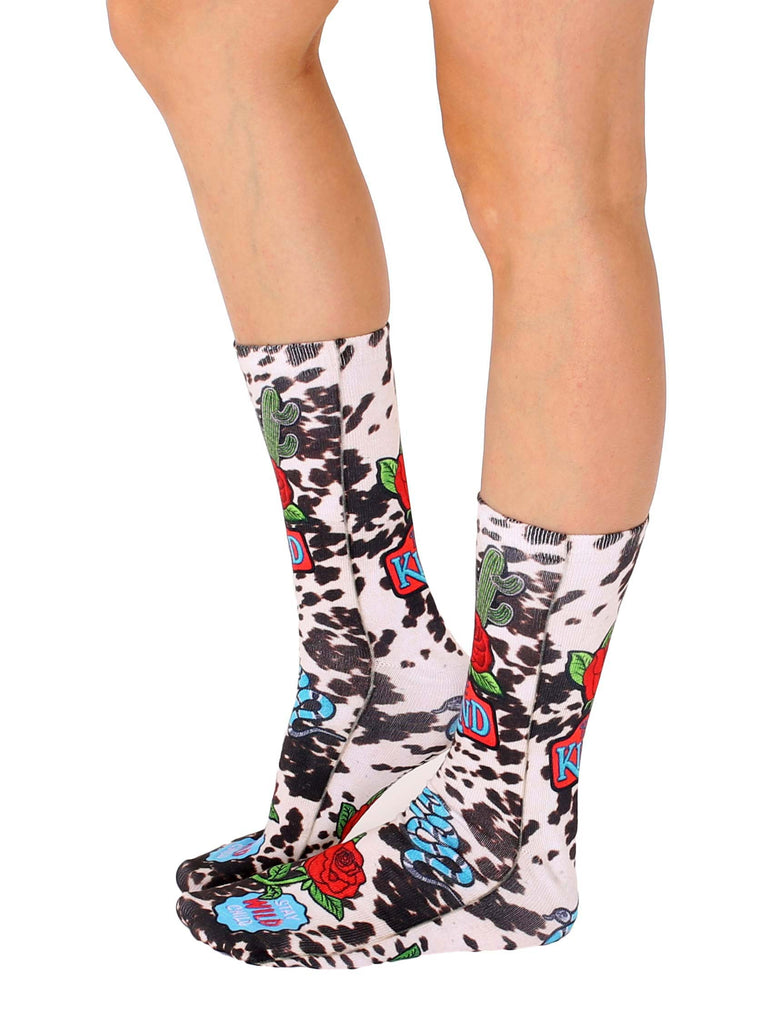 Wild Child Crew Socks