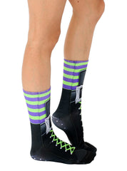 Witch Boot Crew Socks