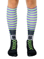 Witch Boot Knee High Socks