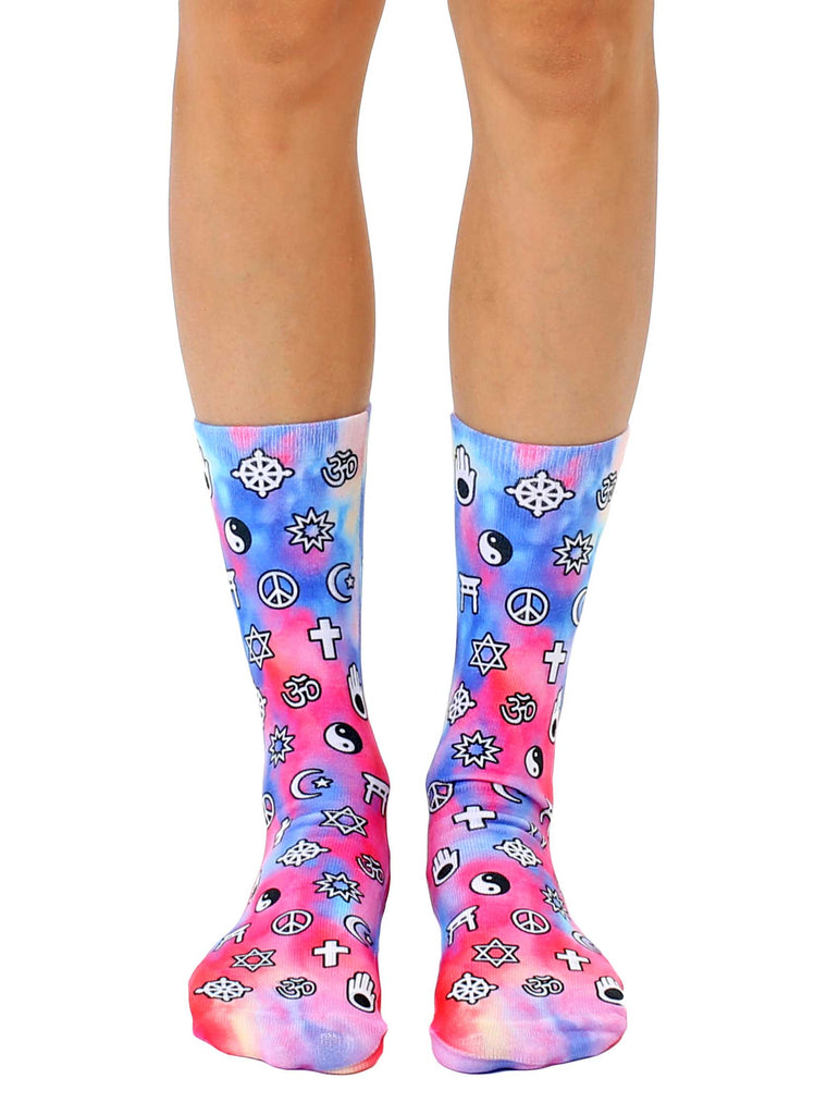 World Religions Crew Socks