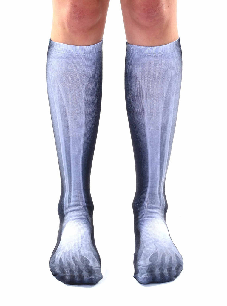 X Ray Knee High Socks
