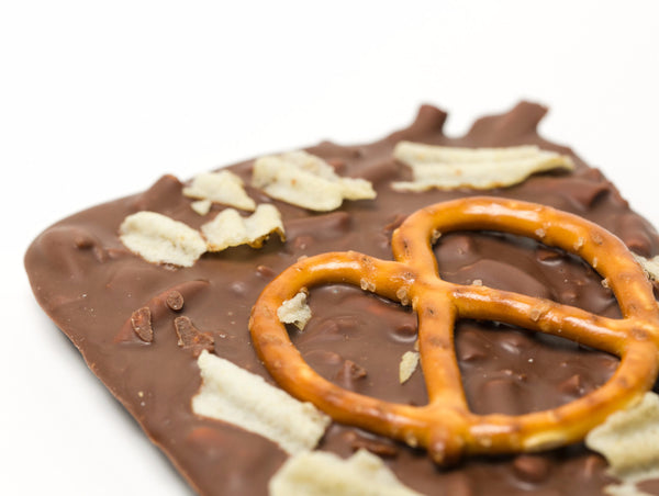 Pretzel & Potato Chip Milk Chocolate Bar