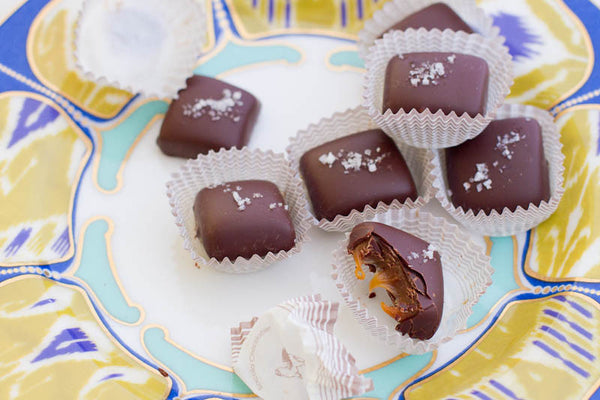 Salty Chewy Caramels