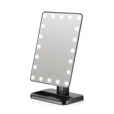 Lurella Cosmetics - Starbright LED Mirror Black