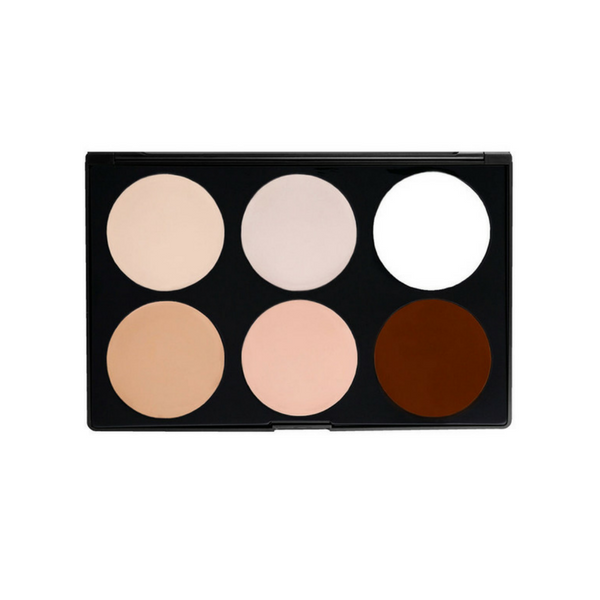 Morphe - 06CF Cream Foundation/Highlight Palette