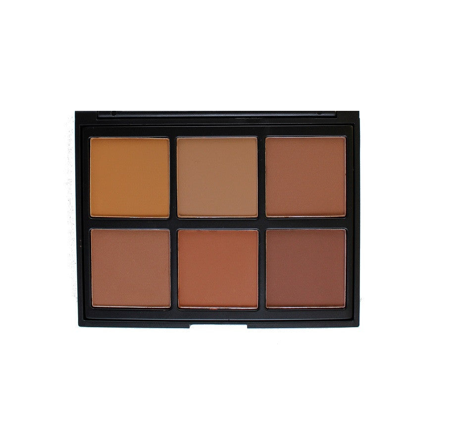 Morphe - 06PW Warm Pro Definition Palette