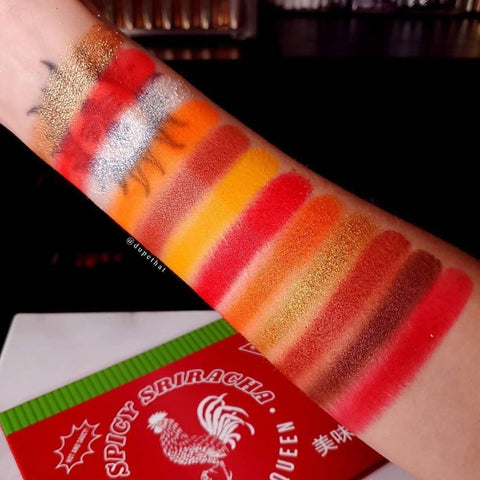 Peachy Queen - Spicy Sriracha Palette