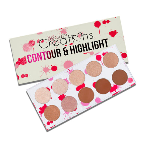 Beauty Creations - Contour & Highlight Palette