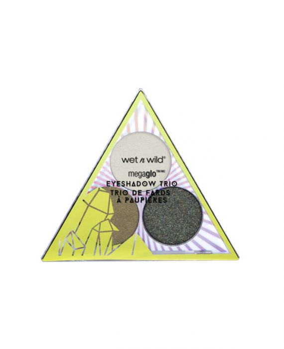 Wet n Wild - Crystal Cavern Mega Glo Eyeshadow Trio- Jade