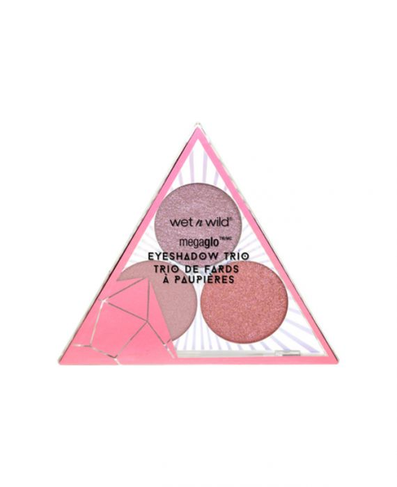 Wet n Wild - Crystal Cavern Mega Glo Eyeshadow Trio- Rose Quartz