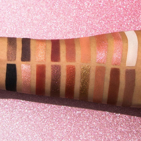 L.A. Colors - Nude Heat Palette