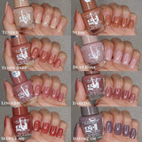 L.A. Colors - Boldly Nude Gel Polish Dusty Rose