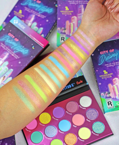 Rude Cosmetics - City of Dreamy Lights Pastel Palette
