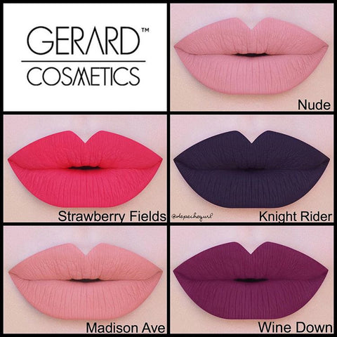 Gerard Cosmetics Hydra Matte Liquid Lipstick 'Madison Ave'