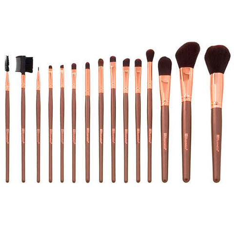 BH Cosmetics - 15pc Rose Gold Brush Set