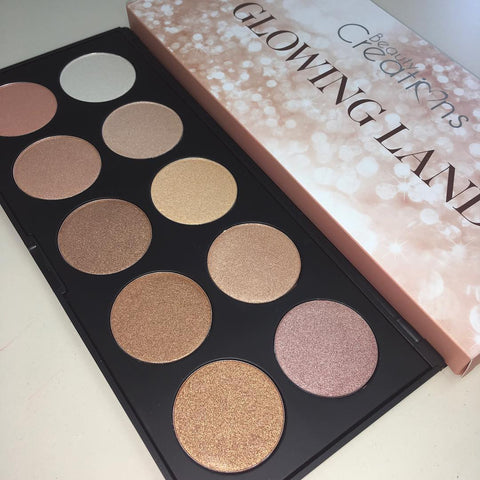 Beauty Creations - Glowing Land Highlight Palette