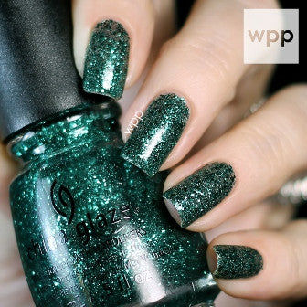 China Glaze 2014 Twinkle 'Pine-ing for Glitter'