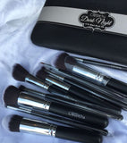 Beauty Creations - Dark Night 12pc Brush Set