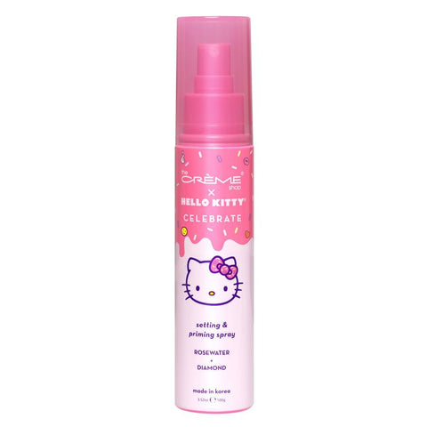 The Creme Shop - Hello Kitty Celebrate Setting & Priming Spray - Rose Water + Diamond
