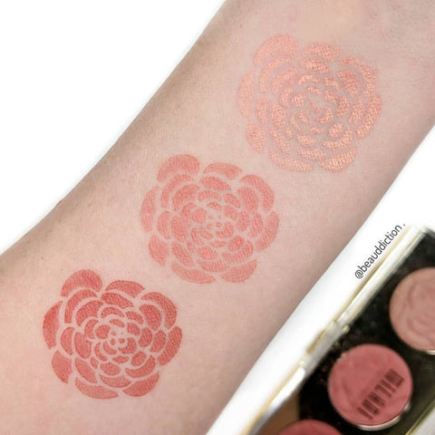 Milani Cosmetics - Rose Blush Trio Palette Flowers of Love