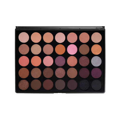 Morphe - 35W Color Warm Palette