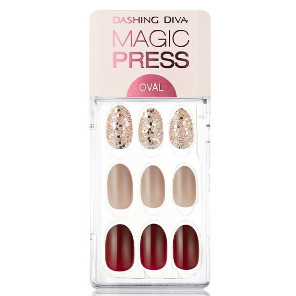 Dashing Diva - Magic Press Luminous Red