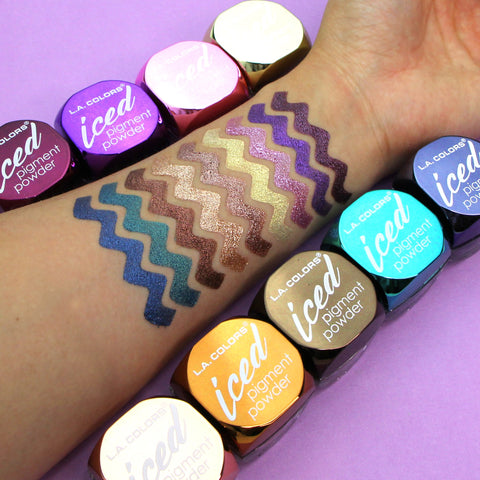 L.A. Colors - Iced Pigment Powder Toasted