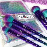 Moda - Mythical 6pc Celestial Blue Travel Kit