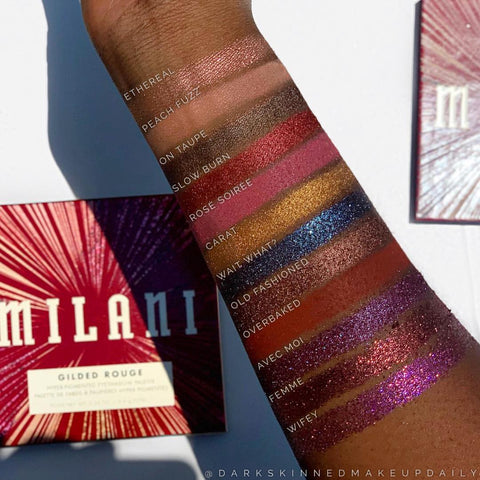 Milani Cosmetics - Gilded Rouge Palette