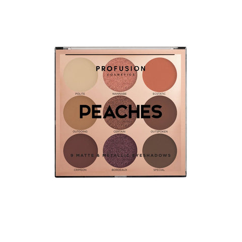 Profusion - Mixed Metals Eyes & Lips Peaches