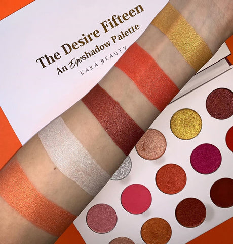 Kara Beauty - The Desire Fifteen Palette