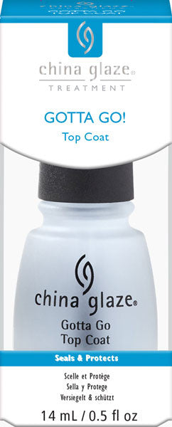 China Glaze Gotta Go! Top Coat