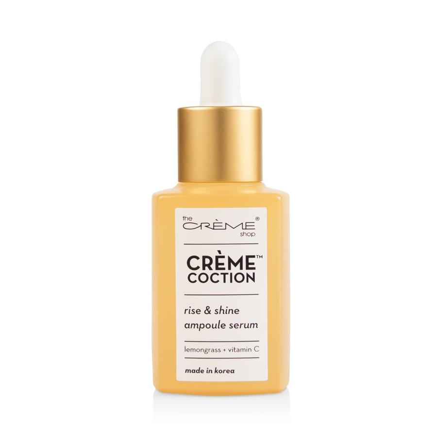 The Creme Shop - Rise & Shine Ampoule Serum - Crèmecoction Lemongrass + Vitamin C