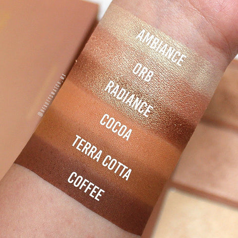 Kara Beauty - Bronzed Goddess Palette
