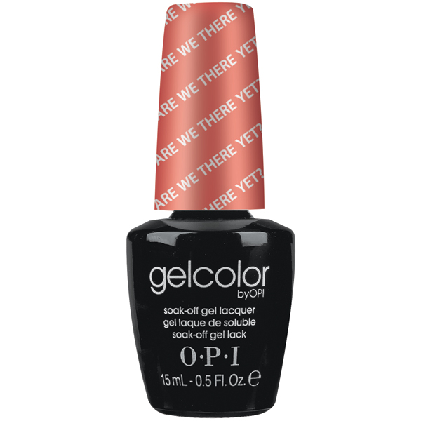 "OPI GelColor ""Are We There Yet?"""