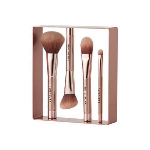 Moda - Metallics 4pc Blended Beauty Kit