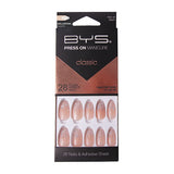 BYS - Press On Manicure 28pc Hint of Glam Ballerina