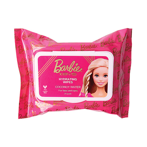 BYS x Barbie - Hydrating Wipes with Coconut Water