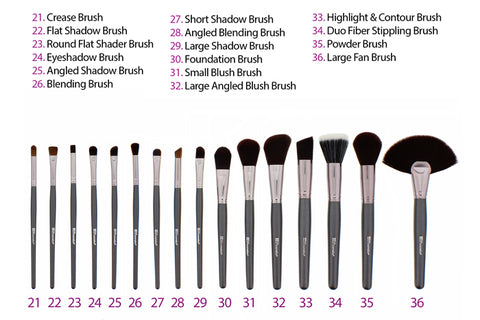 BH Cosmetics - 36 Piece Ultimate Brush Set
