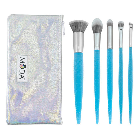Makeup Addiction Cosmetics - Arctic White Pro Complete Brush Set