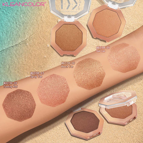 Kleancolor - Tan Out Of Tan Shimmer Bronzer