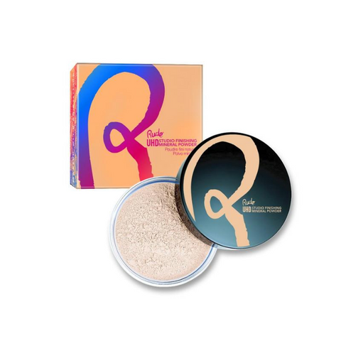 Rude Cosmetics - Ultra High Definition Studio Finishing Mineral Powder - Banana