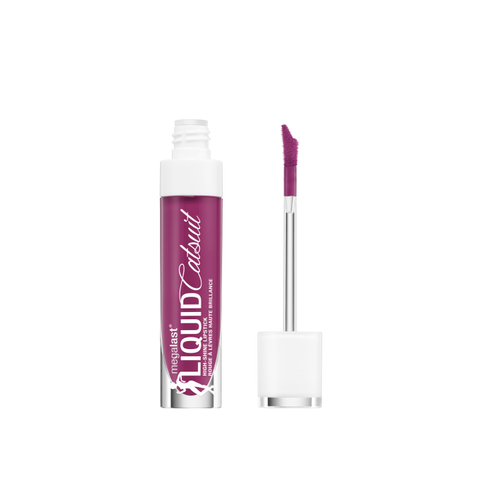 Wet n Wild - MegaLast Liquid Catsuit High-Shine Lipstick Berry Down Lo