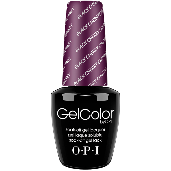 "OPI GelColor ""Black Cherry Chutney"""