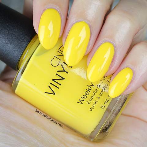 "CND Vinylux 2017 New Wave ""Banana Clips"""