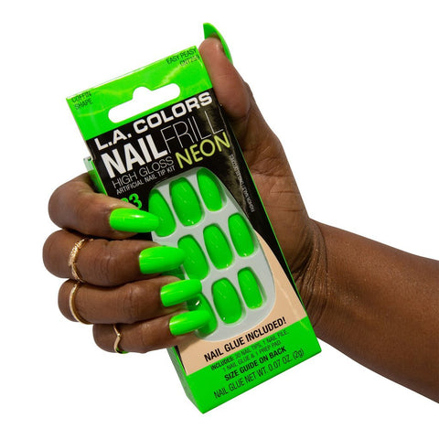 L.A. Colors - Nail Frill Neon Nail Kit Easy Peasy