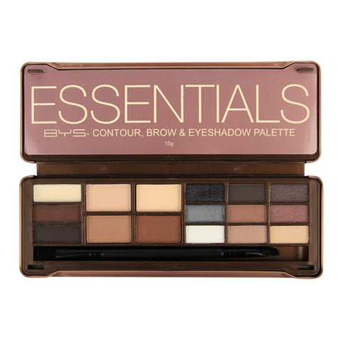 BYS - Essentials Contour, Brow & Eyeshadow Palette